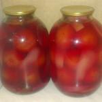 помидоры в розовом рассоле
